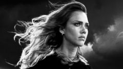 "PHOTO: Jessica Alba as Nancy in a scene from ""Sin City: A Dame to Kill For."""