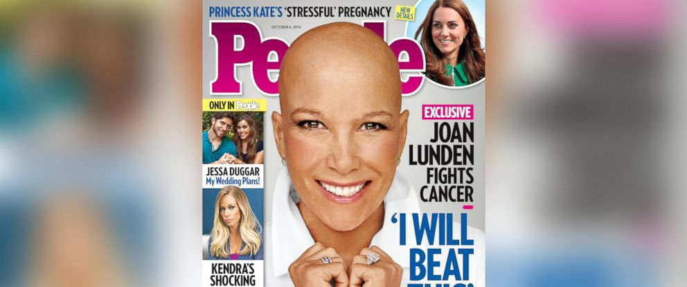 PHOTO: Joan Lunden appears on the cover of the Oct. 6, 2014 issue of People Magazine.