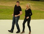 PHOTO: John Travolta and Olivia Newton-John have reunited in a new video for their Christmas album.