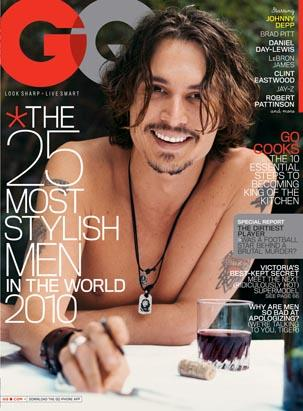 Nude Covers Johnny Depp. A normally camera-shy Johnny Depp is giving his ...