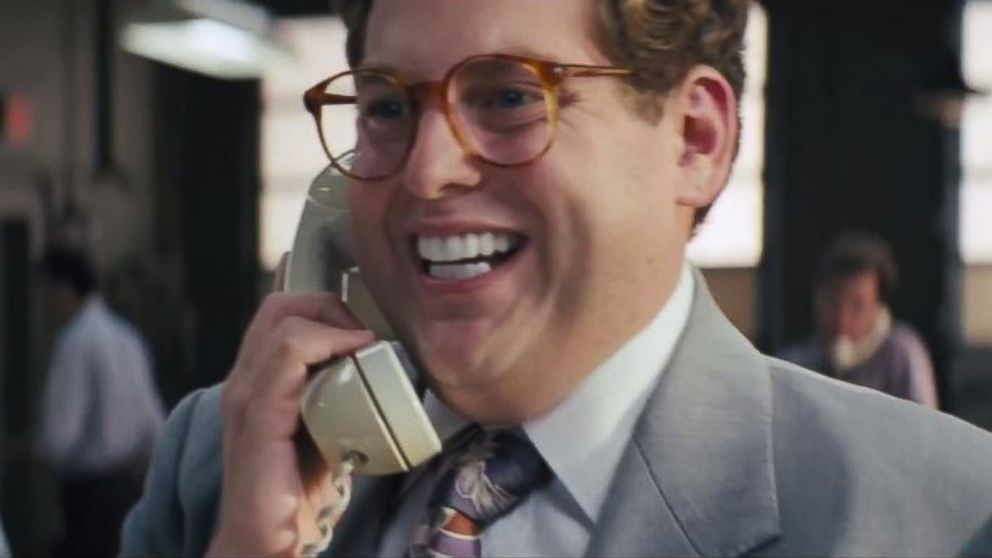 "PHOTO: Jonah Hill in the film ""The Wolf of Wall Street."""