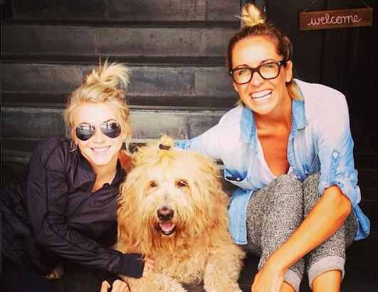 See Julianne Hough and Her Lookalike Pooch!