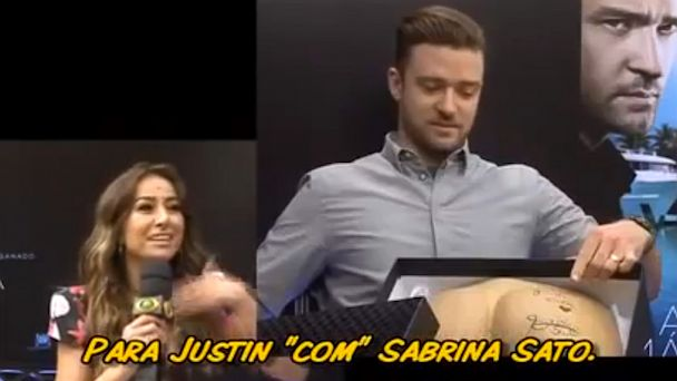 ht justin timberlake interview lpl 130919 16x9 608 Watch Justin Timberlake Squirm During Awkward Interview