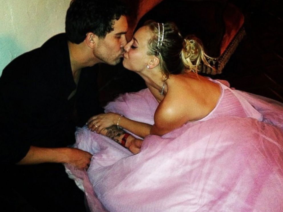 PHOTO: Kaley Cuoco posted this image to her Instagram account Jan. 1, 2014 with the caption, Yep :) #thesweetings @ryansweething