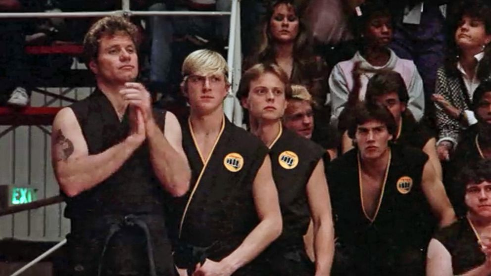 30 years after karate kid billy zabka says cobra kais are still best friends abc news - The Karate Kid Halloween Fight