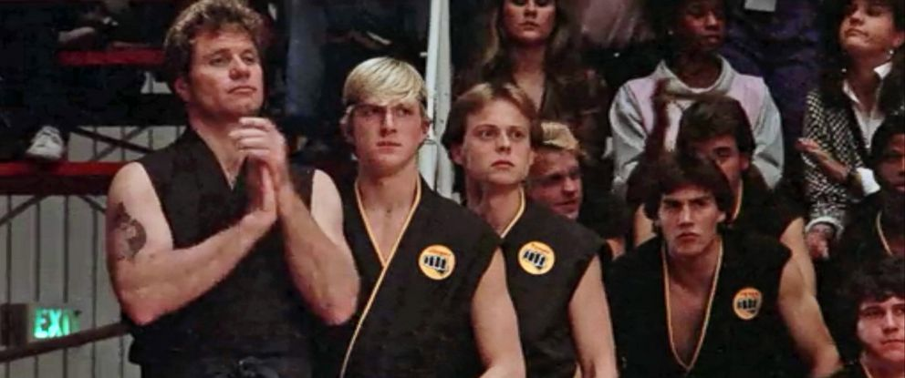 photo martin kove and william zabka star in the 1984 film the karate - The Karate Kid Halloween Fight