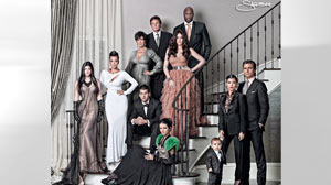 PHOTO Kardashian Christmas Card