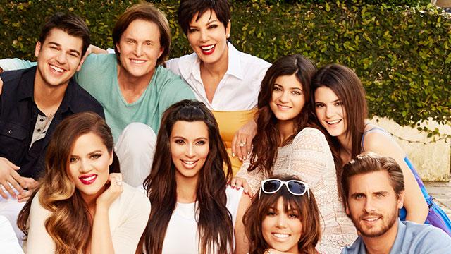 PHOTO:From left, Rob Kardashian, Khloe Kardashian Odom, Bruce Jenner, Kim Kardashian, Kris Jenner, Kylie Jenner, Kourtney Kardashian, Kendall Jenner, Scott Disick from their Keeping Up With The Kardashians Season 8 portrait.