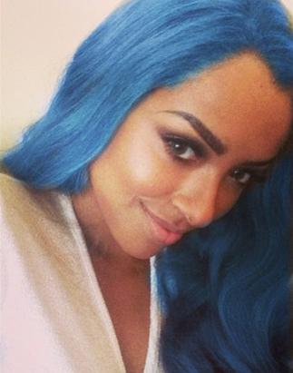 Kat Graham's Blue Hair