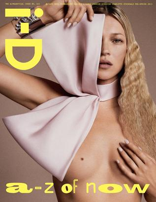 Kate Moss Goes Topless for Mag