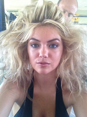 Kate Upton's Bad Hair Day