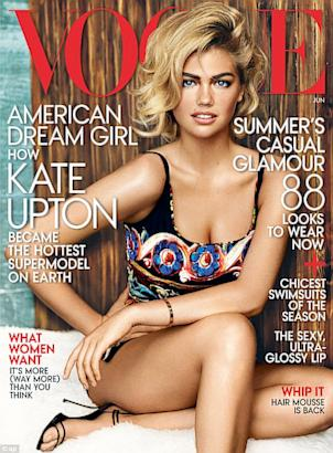 Kate Upton on 'Vogue'