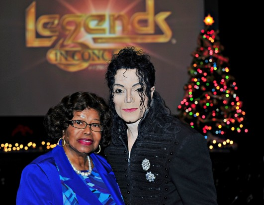 Katherine Jackson Catches MJ Tribute Concert in Vegas
