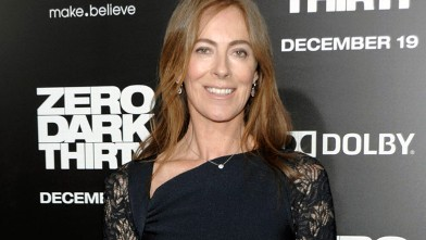 PHOTO: Director Kathryn Bigelow arrives at the premiere of the feature film &quot;Zero Dark Thirty&quot; at the Dolby Theatre in Los Angeles, Dec. 10, 2012.