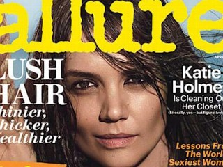 Photos: Katie Holmes Strips Down