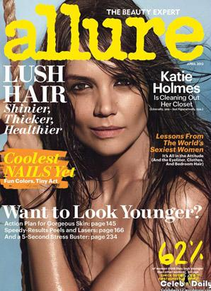 Katie Holmes Strips Down for Allure