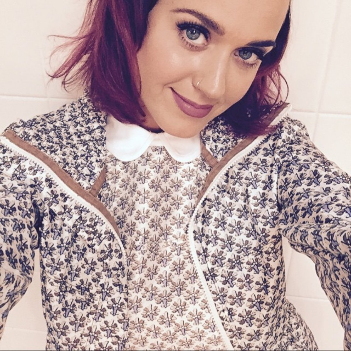 Guess What Color Katy Perrys Hair Is Now!