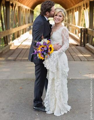 See Christina Ricci\'s Givenchy Wedding Gown! Picture | Celebrity ...