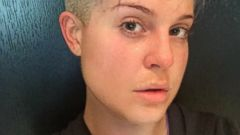 Kelly Osbourne Goes Barefaced to the Gym