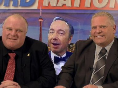 Spacey Responds to Rob Ford Criticisms With Photoshop Pic
