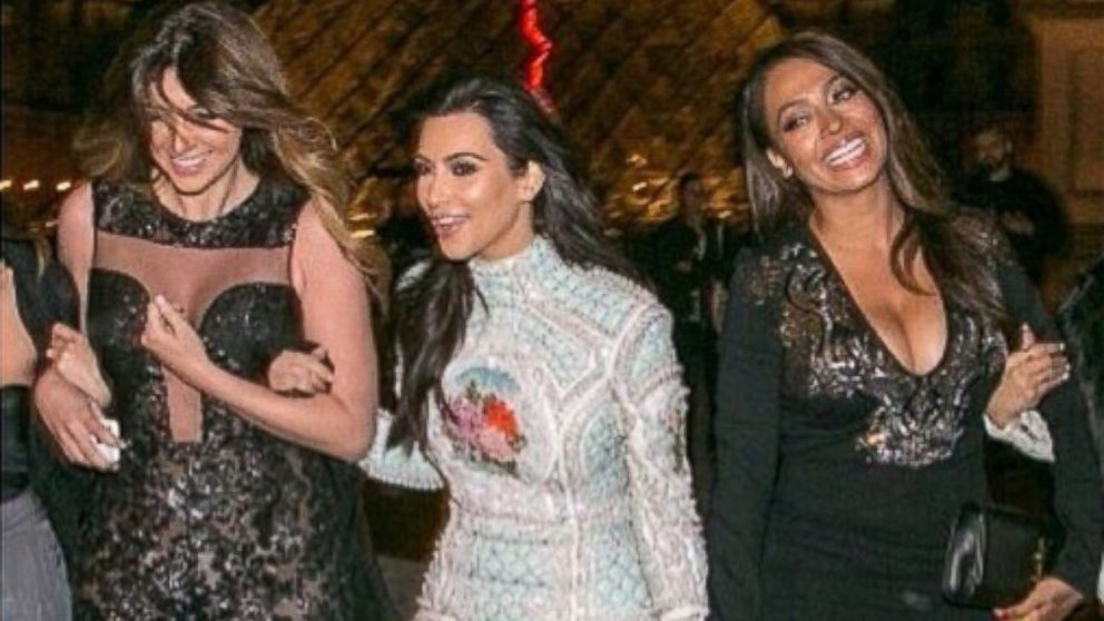 "PHOTO: Kim Kardashian posted this image to her Instagram on May 22, 2014 with the caption, ""No matter what these girls are always there! #BFFS #OGCrew #ParisNights."""