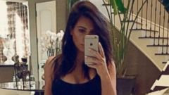 Kim Kardashian Shows Off Her Slimdown Secret
