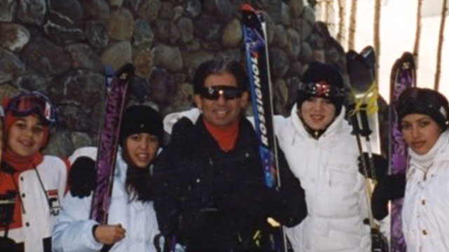 "PHOTO: Thanksgiving was the holiday that I always spent with my dad skiing every year in Vail, Colorado since I was 2 years old to 22,"" posted Kim Kardashian on her website, Nov. 28, 2013."