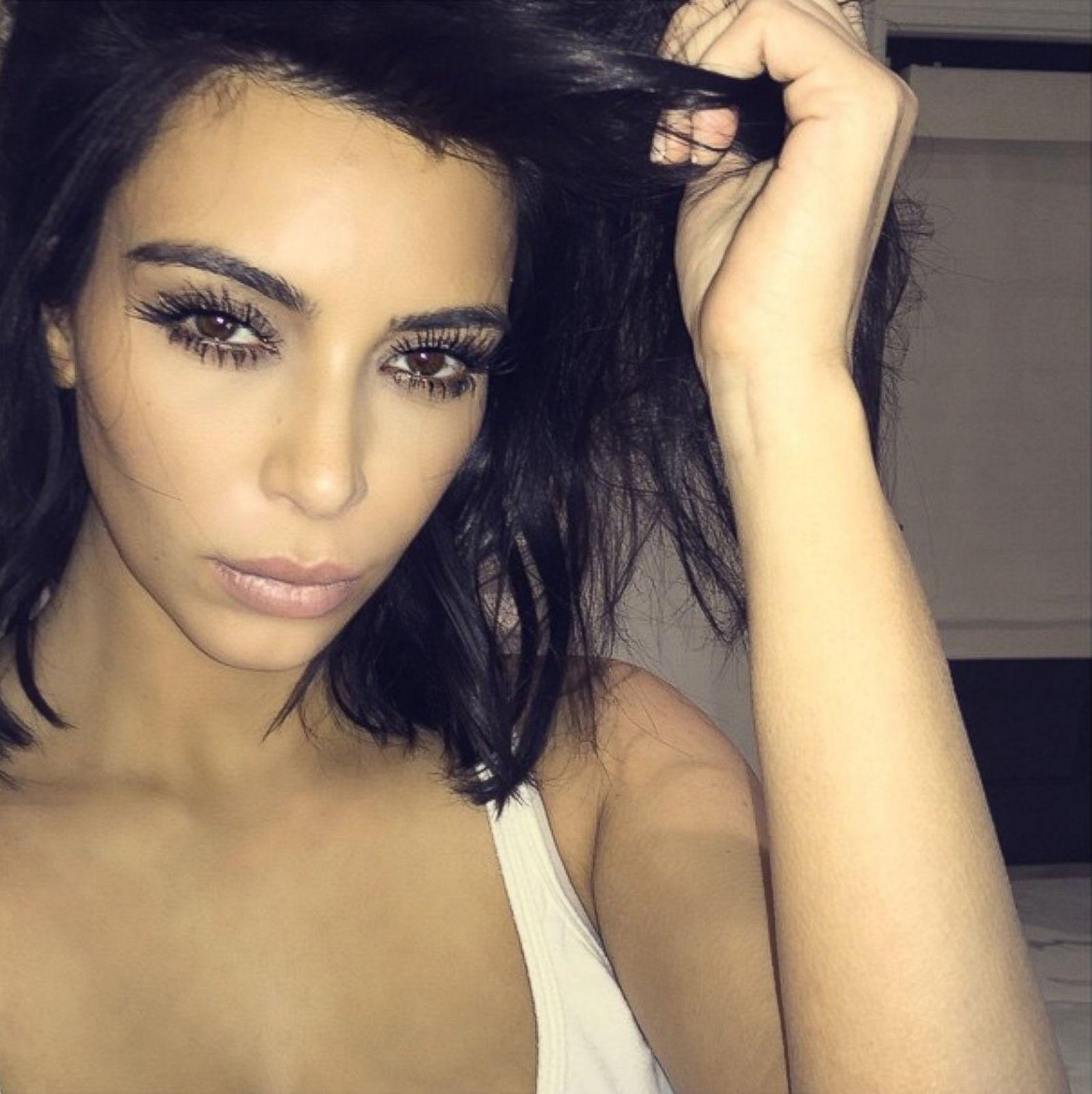 Fantastic Kim Kardashian Through The Years Photos Abc News Hairstyles For Men Maxibearus
