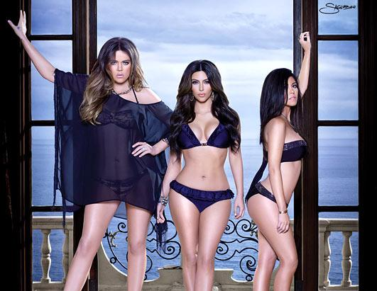 Kardashian Sexy Swimsuit Line