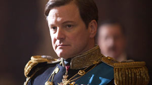 "PHOTO Colin Firth portrays King George VI in ""The Kings Speech."""