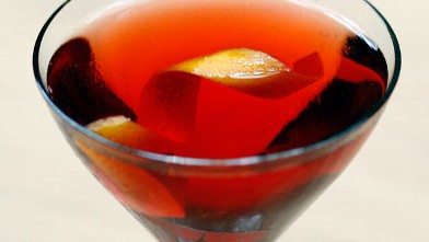 PHOTO: The Kingston Negroni by Julie Reiner of Lani Kai is shown here.