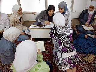 For Syrian Girls, the Koran Is Power
