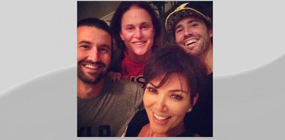 "PHOTO: Kris Jenner posted this image to Instagram with caption, ""Another amazing night @brodyjenner @sprandoni and Bruceeeeee!!! Too fun I love you guys!!! Best hearts #sorryTMZgotitwrongAGAINLOL,"" Oct. 10, 2013."