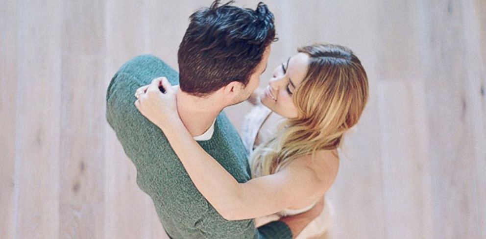 PHOTO: Lauren Conrad posted this image of her and fiancé William Tell to her blog at laurenconrad.com, Feb. 3, 2014.
