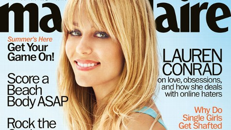 ht lauren conrad marie claire july 2013 ml 130611 wblog Lauren Conrad Says Clubbing Destroyed Her Vocal Chords