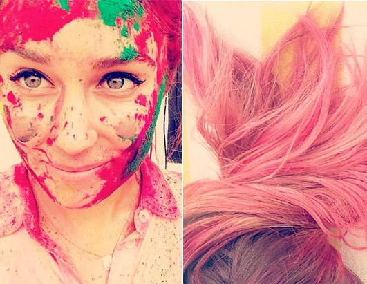 Lauren Conrad Accidentally Dyed Her Hair Pink