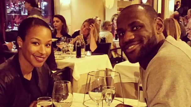 PHOTO: LeBron James honeymoon Instagrams
