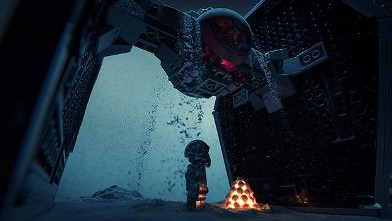 Amazing Star Wars Scenes In Legos