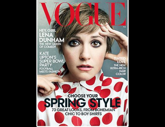 See Lena Dunham's Glam 'Vogue' Makeover!