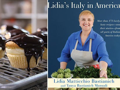 PHOTO: Italian-American Boston Cream Pies featured in Lidia Bastianichs cookbook, Lidias Italy in America.