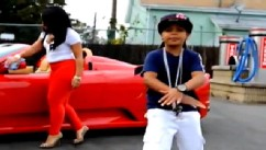 PHOTO: A still from 9-year-old rapper Lil Poopy's controversial video