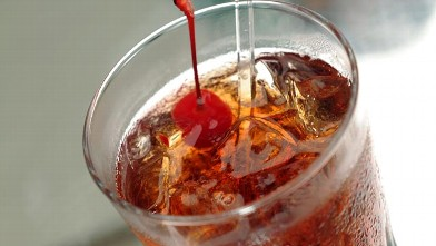 PHOTO: The Lincoln's Manhattan cocktail inspired by &quot;Lincoln&quot; is shown here.