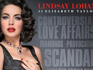 Photos: Lohan Poster Screams 'Scandal'