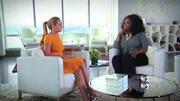 ht lindsay lohan oprah winfrey ll 130805 16x9 608 Oprah Asks Lindsay Lohan, Are You An Addict? (Video)
