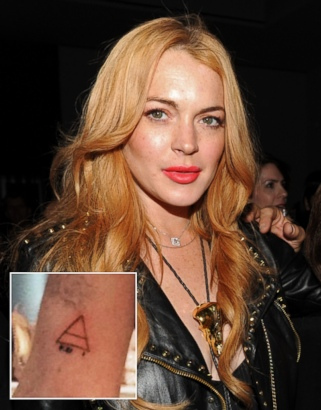 Check Out Lindsay Lohan's New Tattoo