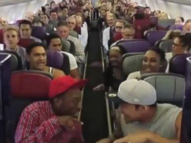 Watch the Cast of 'The Lion King' Sing 'Circle of Life' on a Plane