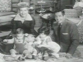 'I Love Lucy': Early Footage of Lucy's Real Kids