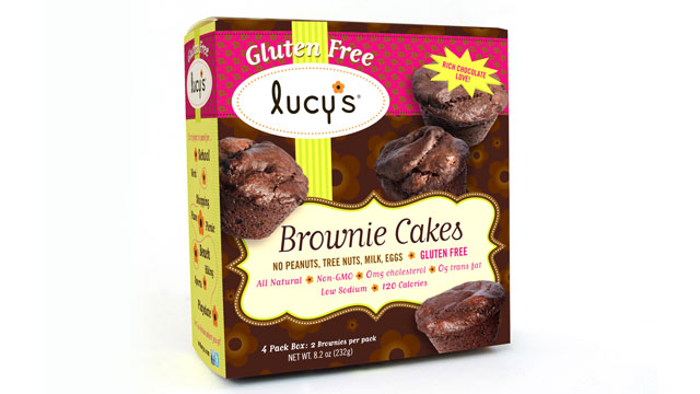 PHOTO: Lucy's brownie cakes are shown here.