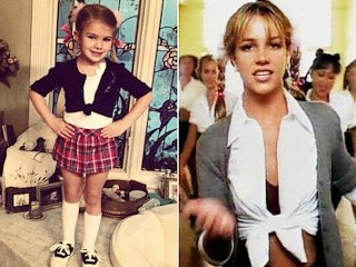 Photos: Girl, 4, Dresses Like Britney