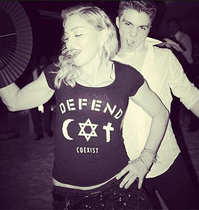 Madonna Parties With Teen Son Rocco